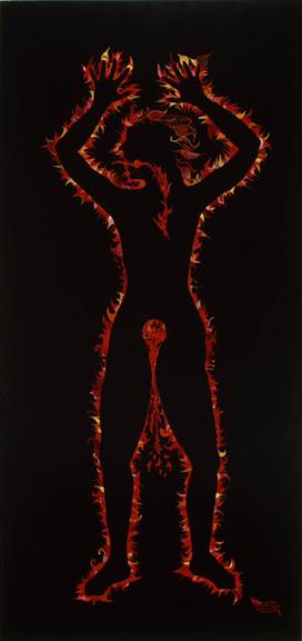 Flaming Woman