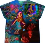 fire walker T shirt (front image)