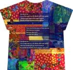 murmuring heart t-shirt (back)